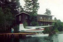 Photograph of Loon Lodge on Temagami, Temagami