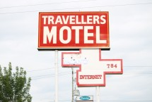 Photograph of Travellers Motel, Stratford